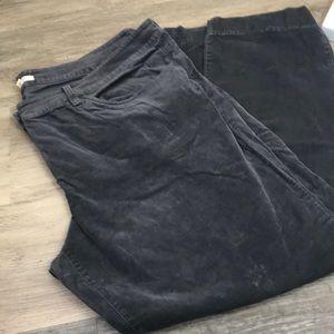 Eileen fisher corduroy pants